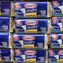 In this 2006, file photo,  packages of Kraft Singles are displayed in Chicago
