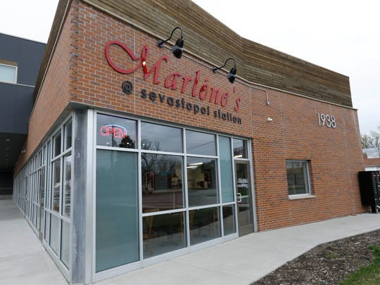 Owner Kim Carstens recently opened the restaurant Marlene's at Sevastopol Station on the south side of Des Moines.