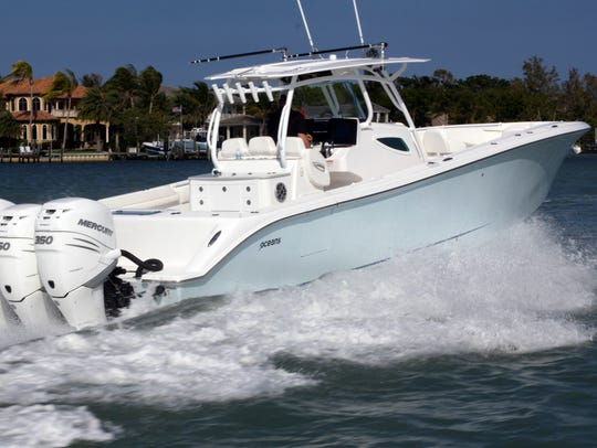 The 7Oceans 40FS7 can be checked out at the Stuart Boat Show Thursday with Matt Key of United Yacht Sales located on F Dock.