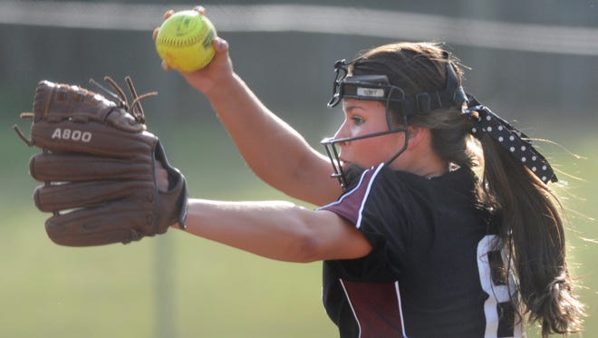 Alabama Christian Academy's Caitlin Perry held Haleyville to three hits and struck out seven in a 1-0 win over the two-time defending state champs on Friday night.
