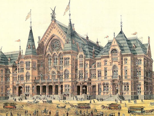 Cincinnati Music Hall, 1878