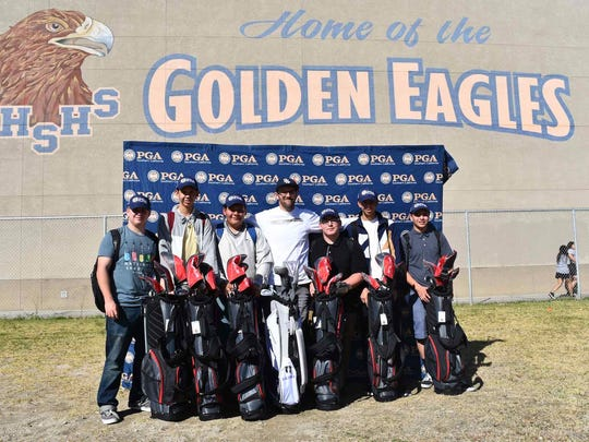 Desert Hot Springs is one of more than 30 high schools to receive new golf clubs through the SCPGA's Clubs Fore Youth program
