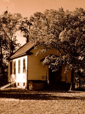 This one-room country school served District 132, generally known as the Streitz district. The school was located in the extreme southeastern part of Farming Township.