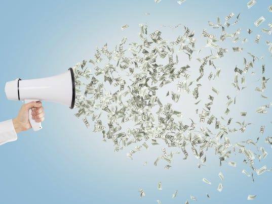 Loudspeaker and money