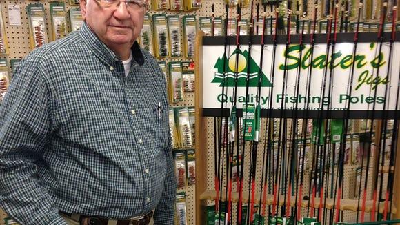 Eddie Slater started Slater's Jigs in 1969.