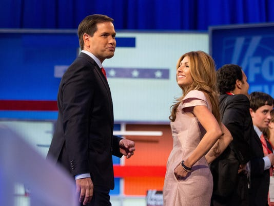 Marco Rubio, Jeanette Dousdebes