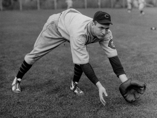Billy Herman, Chicago Cubs second baseman, is shown in this   February 27, 1932.