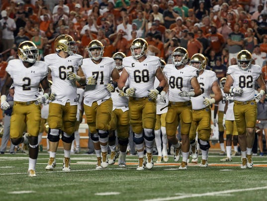 story sports college notre dame notre dames attitude guys just fed up