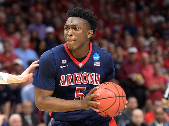 Arizona's Stanley Johnson.