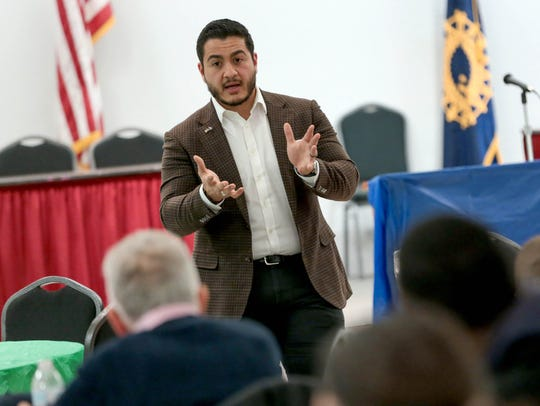 Michigan Democratic Gubernatorial candidate Abdul El-Sayed