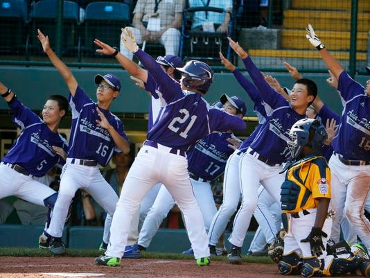 LLWS South Korea Chicago Championship Baseball