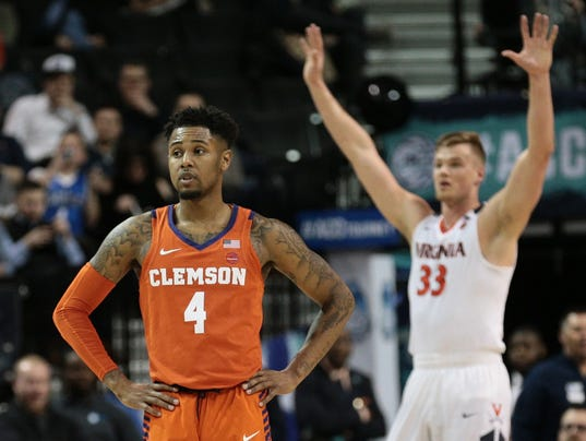 NCAA Basketball: ACC Conference Tournament-Virginia vs Clemson
