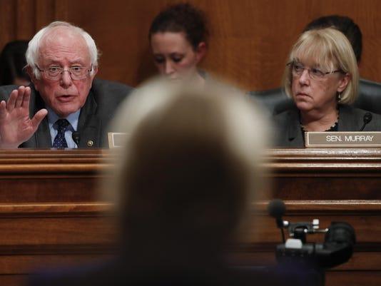 Betsy DeVos,Patty Murry,Bernie Sanders