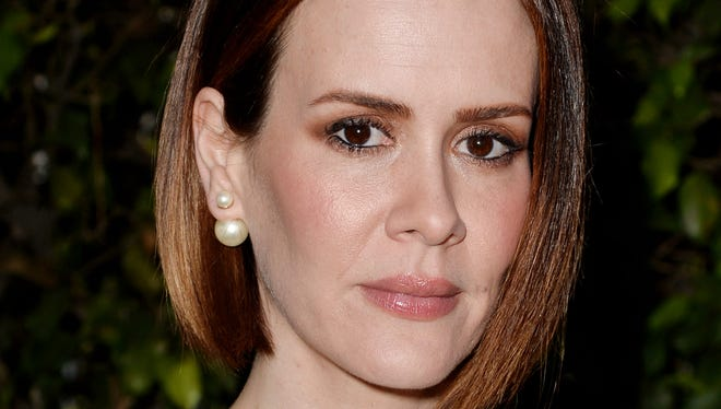 """Sarah Paulson, shown in June, is nominated for   """"American Horror Story: Coven."""""""