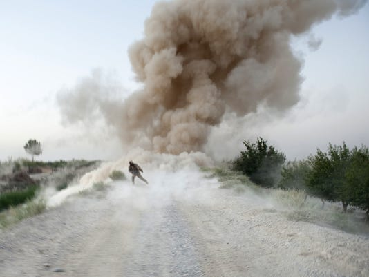 Study: Bomb blasts may cause early aging in brains of troops