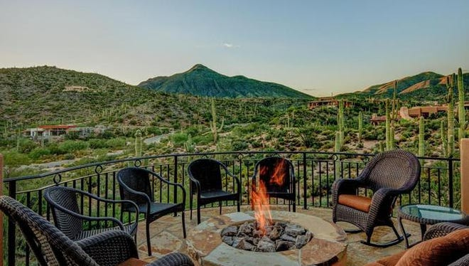 Terri Tyson and Timothy Bennett paid cash through their trust for this house in Scottsdale's Desert Mountain community.