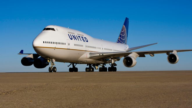 This file photo from Feb. 22, 2011, shows a United Airlines Boeing 747 at Chicago's O'Hare International Airport.