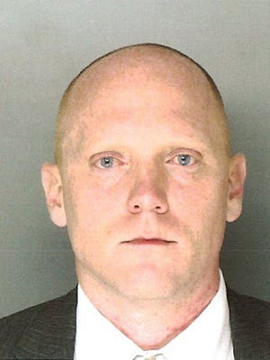 "This undated photo provided by the Montgomery County Office of the District Attorney in Norristown, Pa., shows Bradley William Stone, 35, of Pennsburg, Pa., a suspect in six shooting deaths in Montgomery County on Monday, Dec. 15, 2014. District Attorney Risa Vetri Ferman said all of the victims have a ""familial relationship"" to Stone. (AP Photo/Montgomery County Office of the District Attorney)"