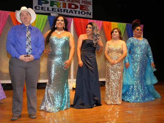 The Deming Pride Sashes Pageant contestants for 2017