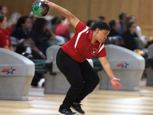 Section 1 girls bowling tournament at Fishkill Bowl