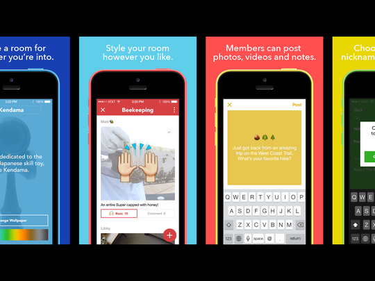 Facebook has launched a new app called Rooms for people