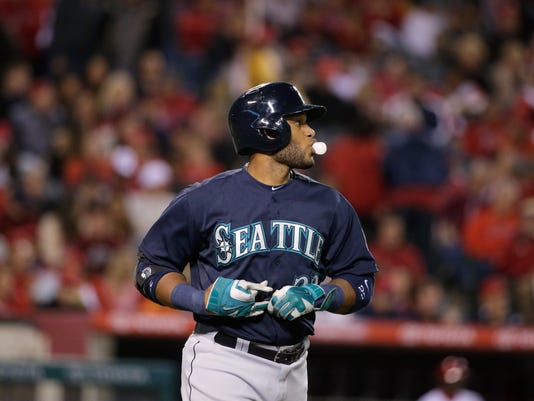 Cano Robinson Seattle Mariners 2014