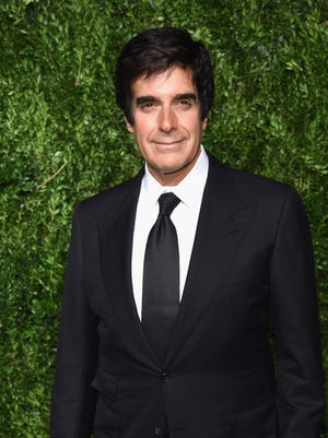 Illusionist David Copperfield at the CFDA/Vogue Fashion Fund Awards on Nov. 6.