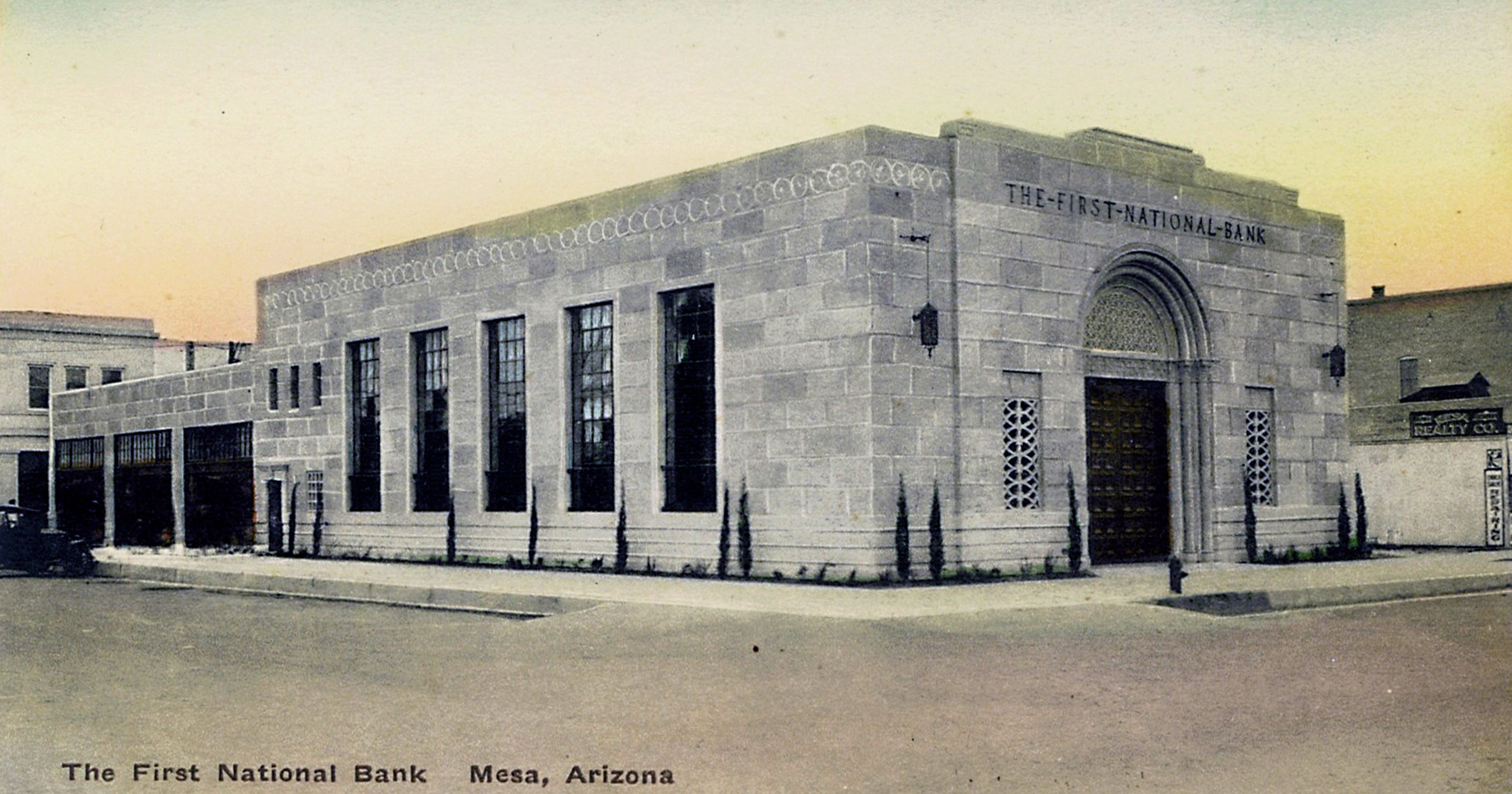 Mesa history: First National Bank of Mesa building held