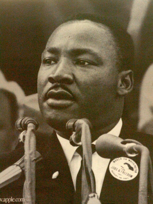 Dr. King's dream remembered locally