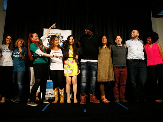 Storytellers and coaches stage for the final bow Thursday,