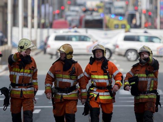 EPA BELGIUM BRUSSELS METRO EXPLOSION WAR ACTS OF TERROR BEL
