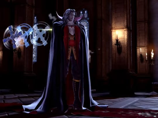 Dracula in Super Smash Bros. Ultimate for the Nintendo Switch.