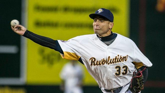 Jorge Martinez pitched 6 2/3 shutout innings on Sunday.