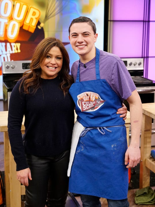Nick Capone with Rachael Ray