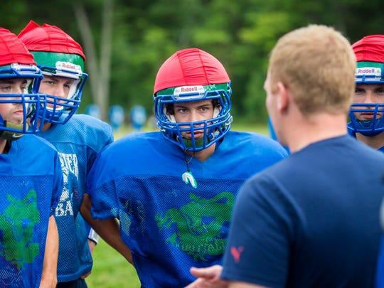 Colchester High School football player Brayden Duggan,