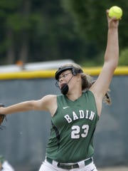 Nicole Rawlings lets it whip for Badin.