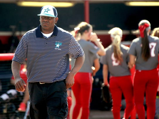 Siegel softball coach Perry Lyons was named The Daily
