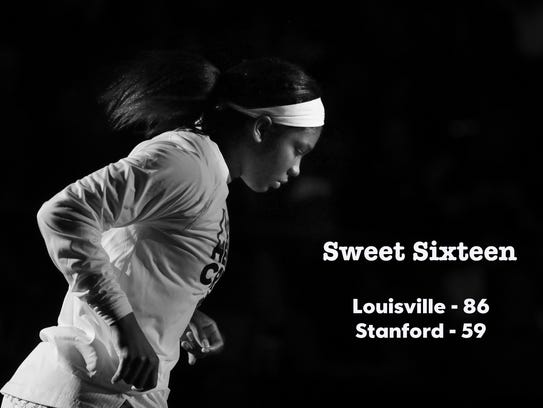 Louisville defeata Stanford 86-59 in the NCAA Sweet