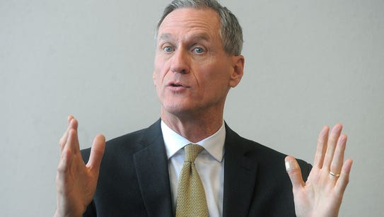 Dennis Daugaard's chief of staff said the governor