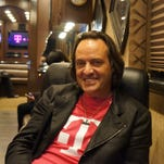 """John Legere, T-Mobile CEO, says """"our momentum is strong and our incredible customer growth is translating directly into solid financial growth which makes it crystal clear that putting customers first is just good business."""""""