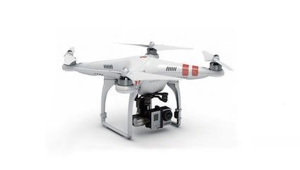 The DJI Phantom 2 personal drone