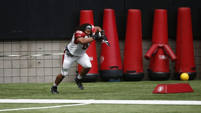 One young player among this year's crop of undrafted rookie free agents continues to improve his chance of making the team – nose tackle Xavier Williams out of Northern Iowa.