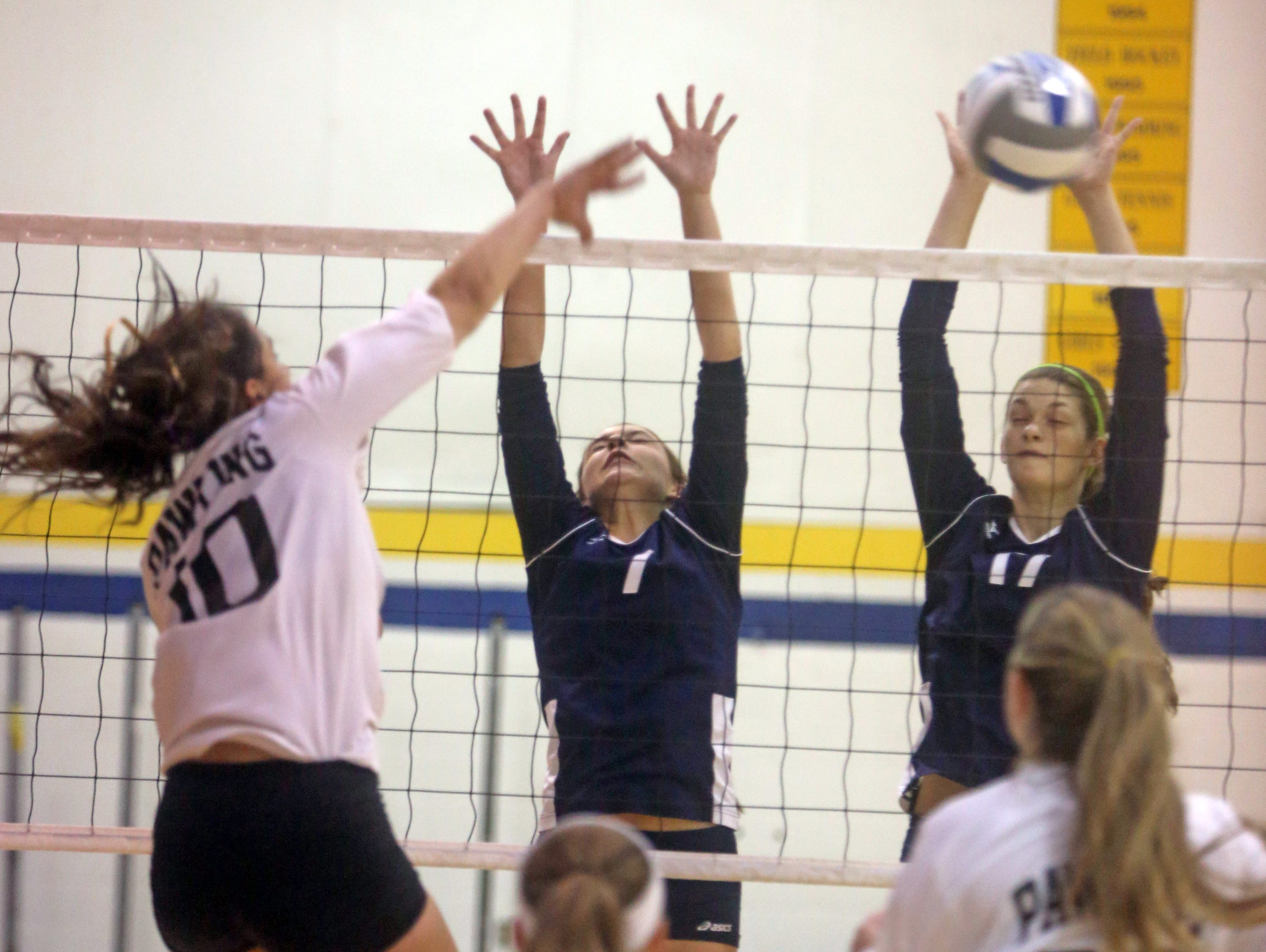 Suffern battled Pawling during the 12th Annual Panther Invitational Volleyball Tournament at Walter Panas High School in Cortlandt Manor Oct. 24, 2015.