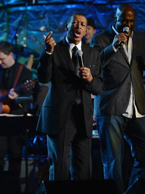 Ben E. King performs onstage at the Songwriters Hall of Fame  induction at The New York Marriott Marquis on June 14, 2012 in New York City.  7