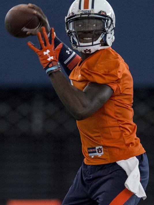 Auburn first practice