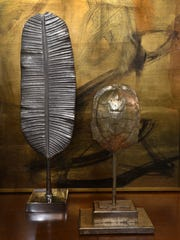 Metallics in home design available at Shreveport's Chateau en Mae.