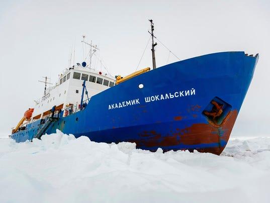Russian ship Antarctica