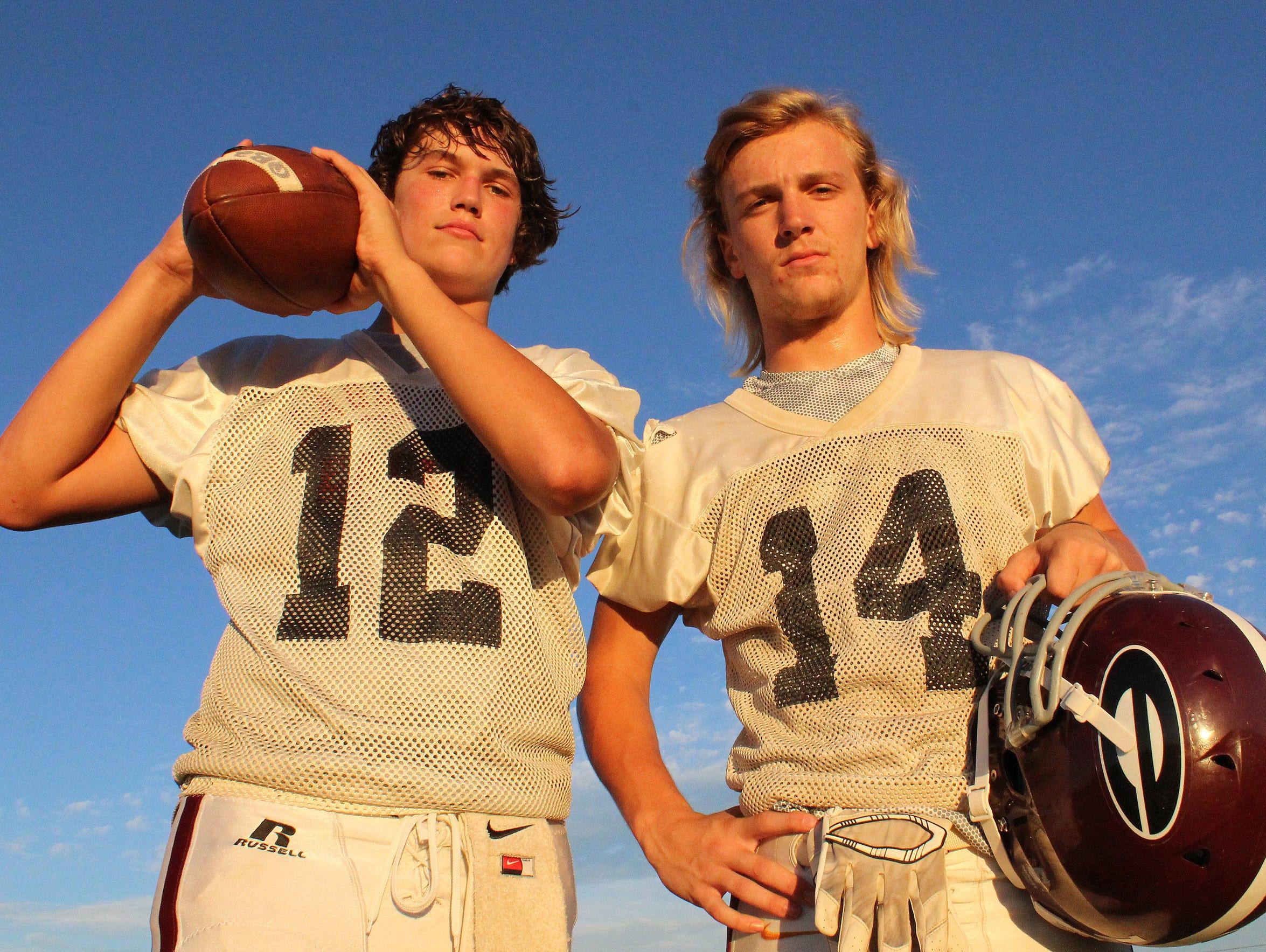 Eagleville freshman Ethan Cobb and sophomore Graham