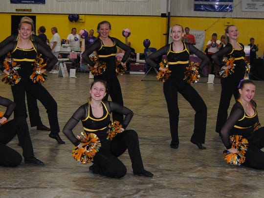 The Waupun Warriorettes Dance Team performed at Waupun's Relay for Life.
