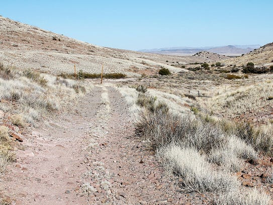 The Butterfield Trail can still be seen in Cooke's